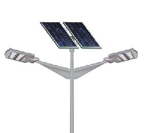 Iluminat stradal cu panouri fotovoltaice